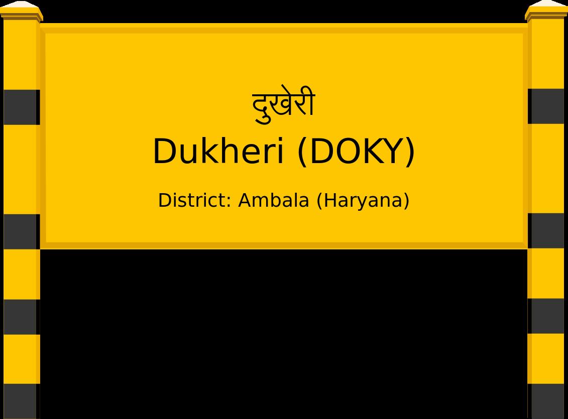 Dukheri (DOKY) Railway Station