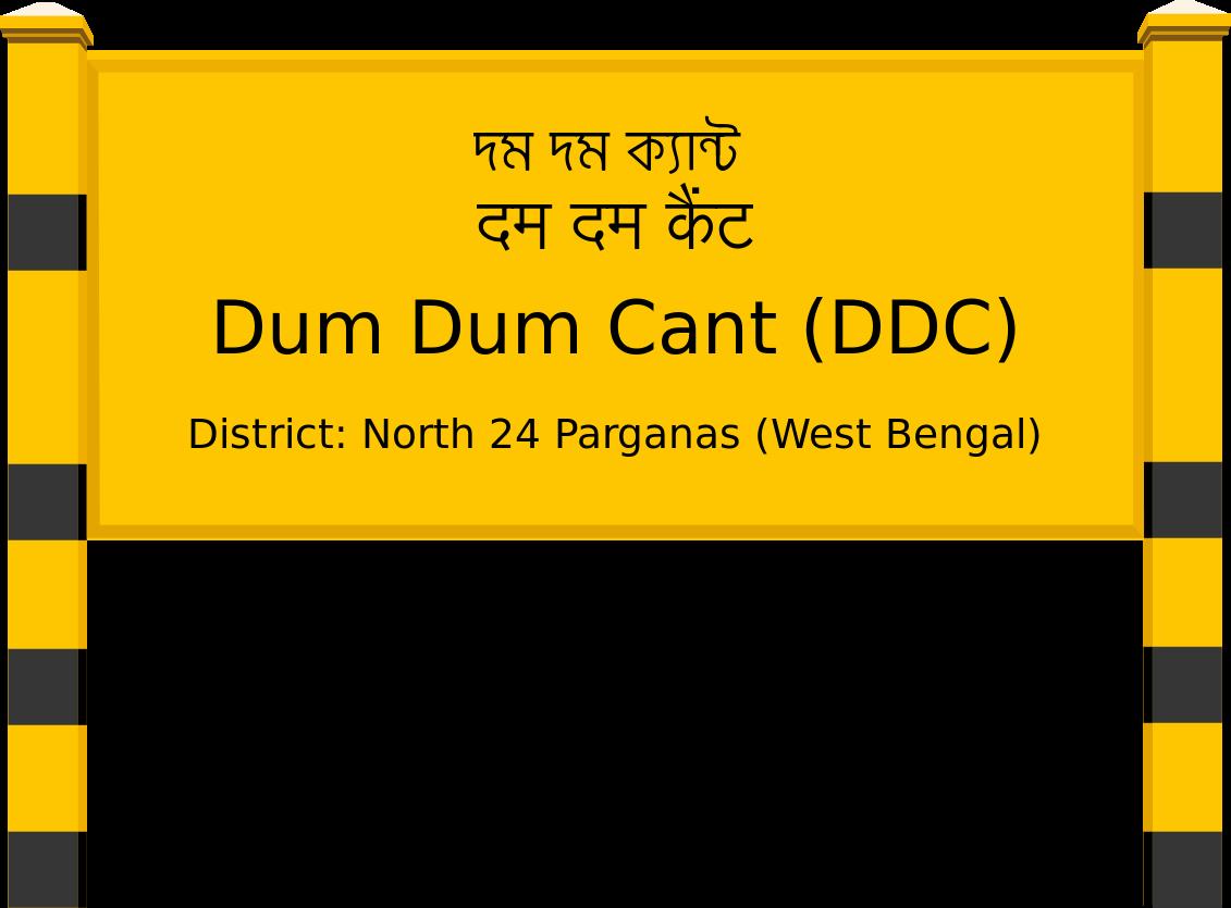 Dum Dum Cant (DDC) Railway Station