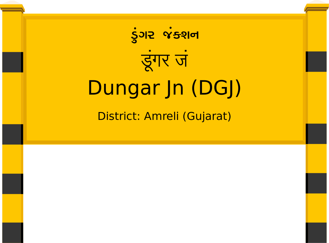 Dungar Jn (DGJ) Railway Station