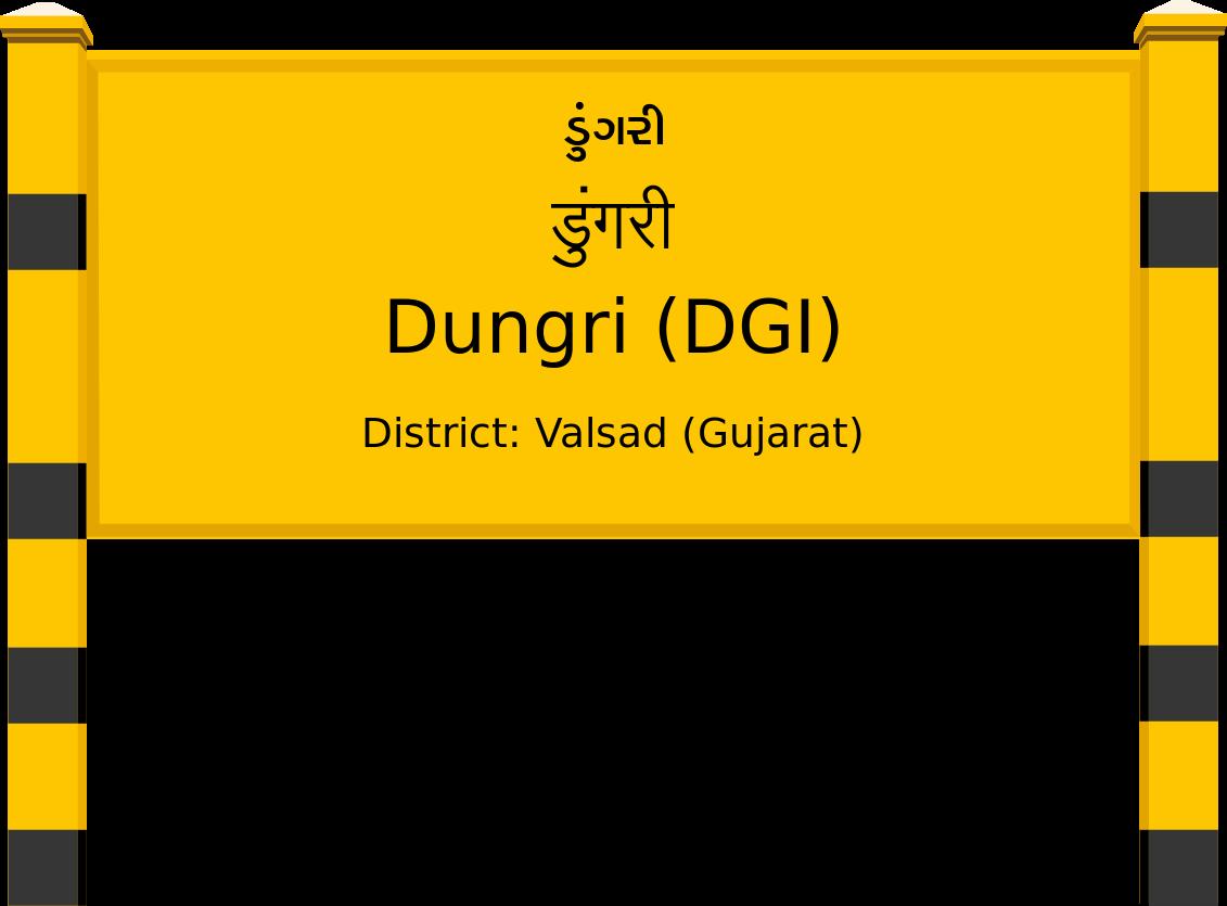 Dungri (DGI) Railway Station