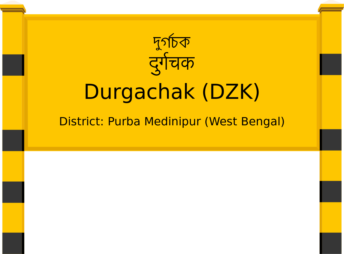 Durgachak (DZK) Railway Station