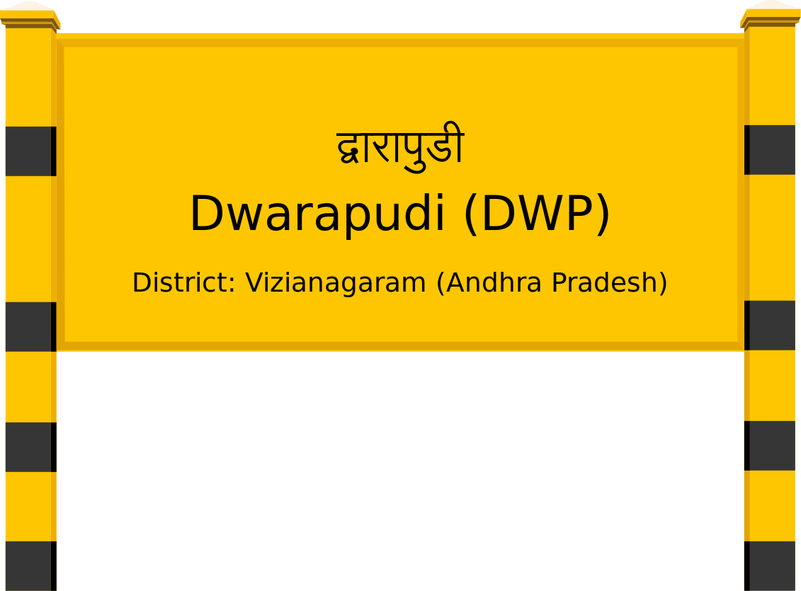 Dwarapudi (DWP) Railway Station