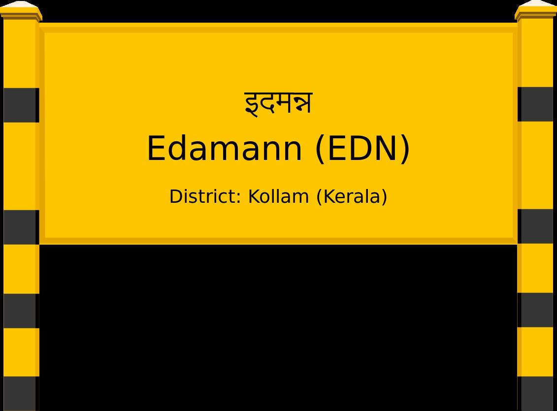 Edamann (EDN) Railway Station