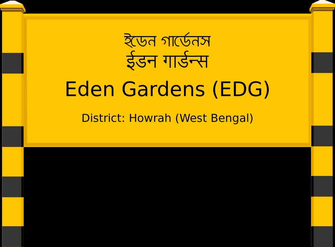 Eden Gardens (EDG) Railway Station