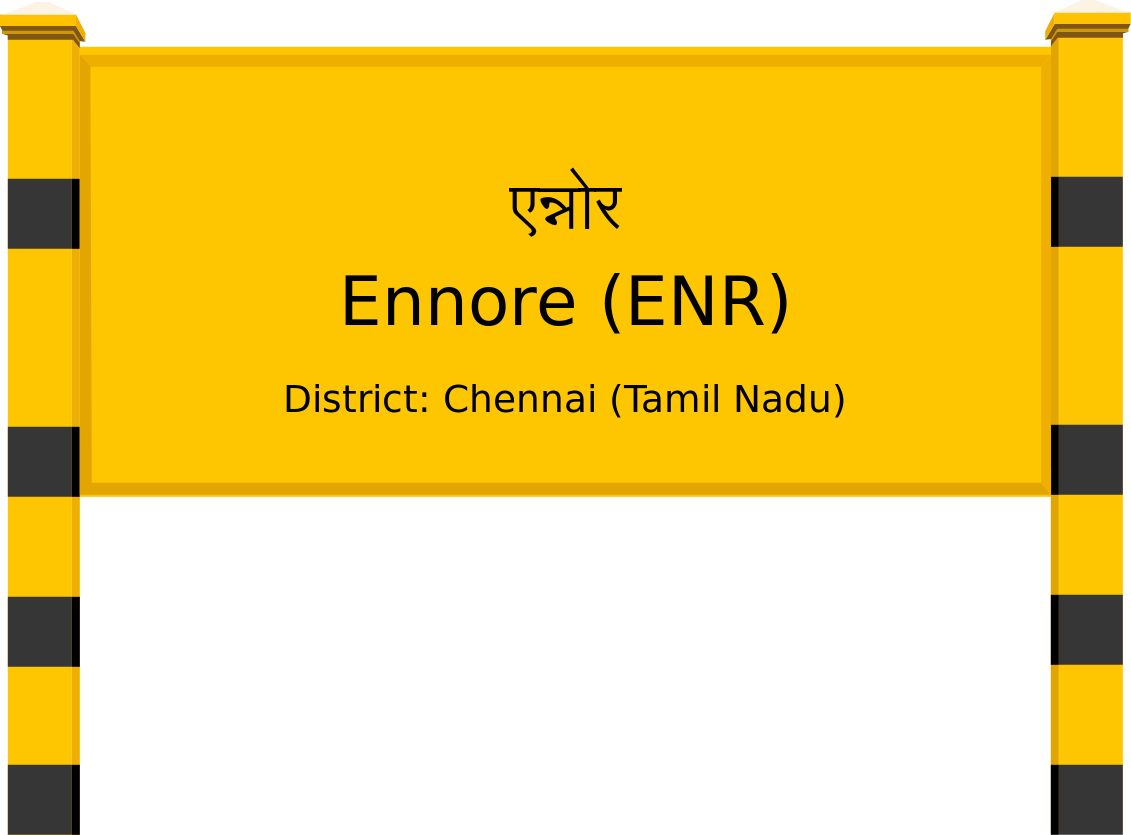 Ennore (ENR) Railway Station