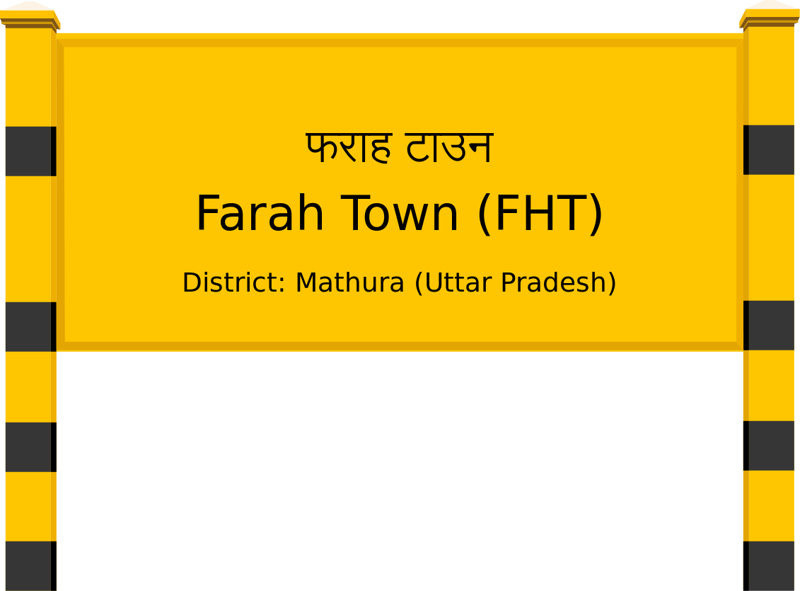 Farah Town (FHT) Railway Station