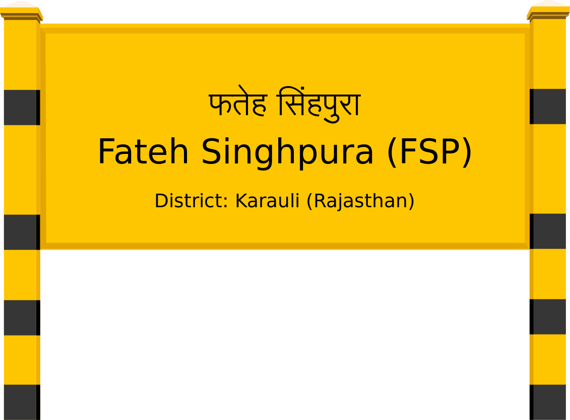 Fateh Singhpura (FSP) Railway Station