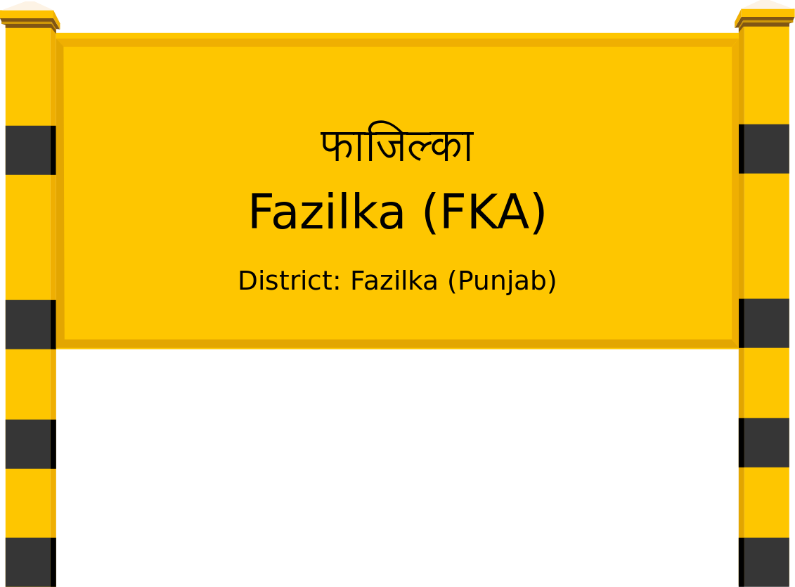 Fazilka (FKA) Railway Station