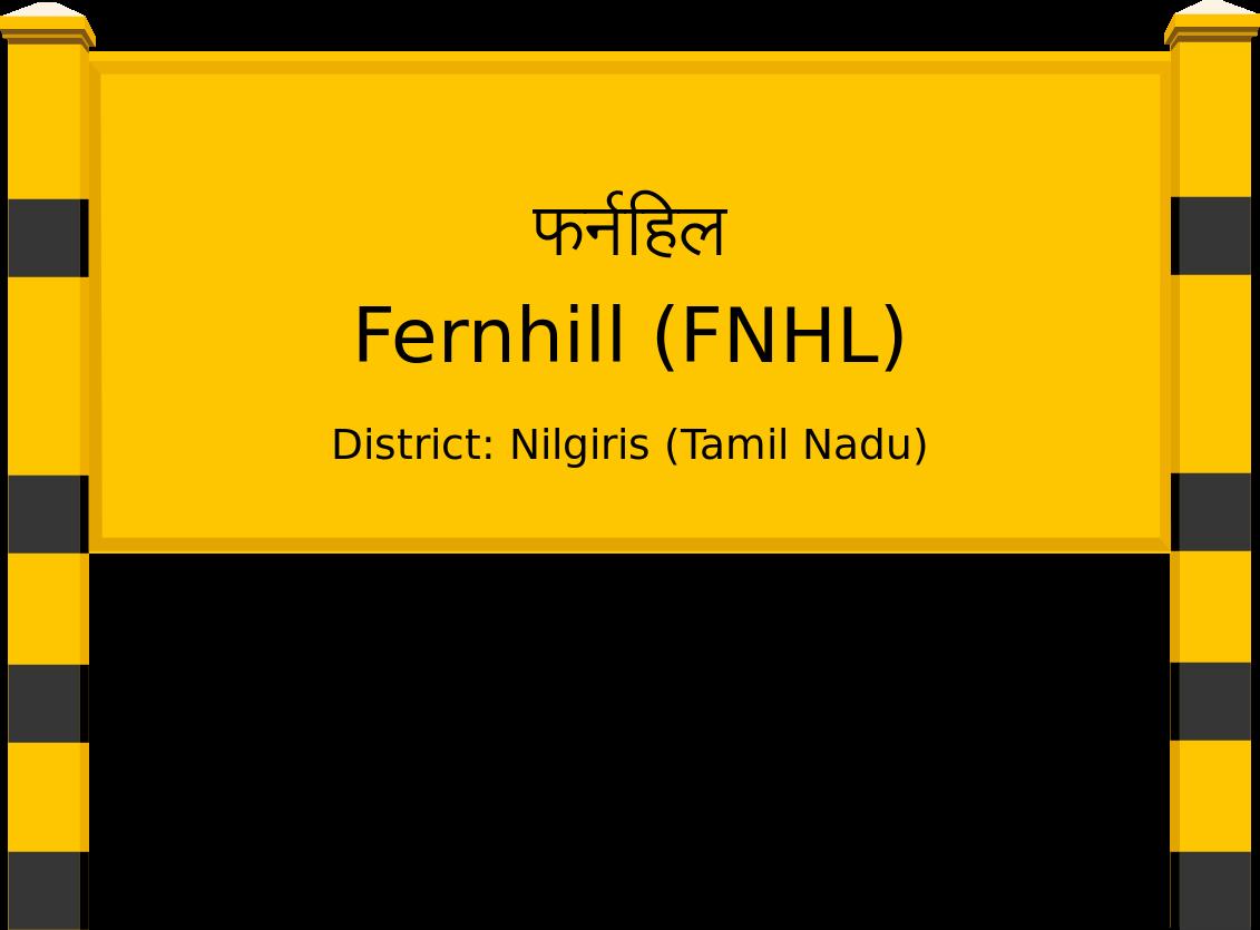 Fernhill (FNHL) Railway Station