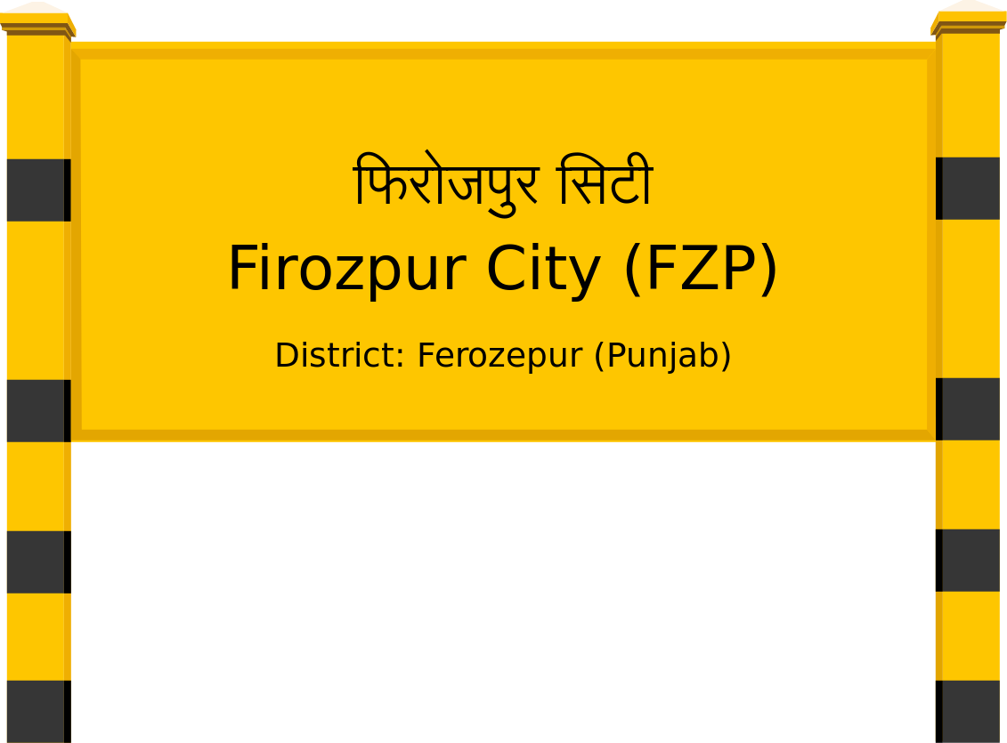 Firozpur City (FZP) Railway Station