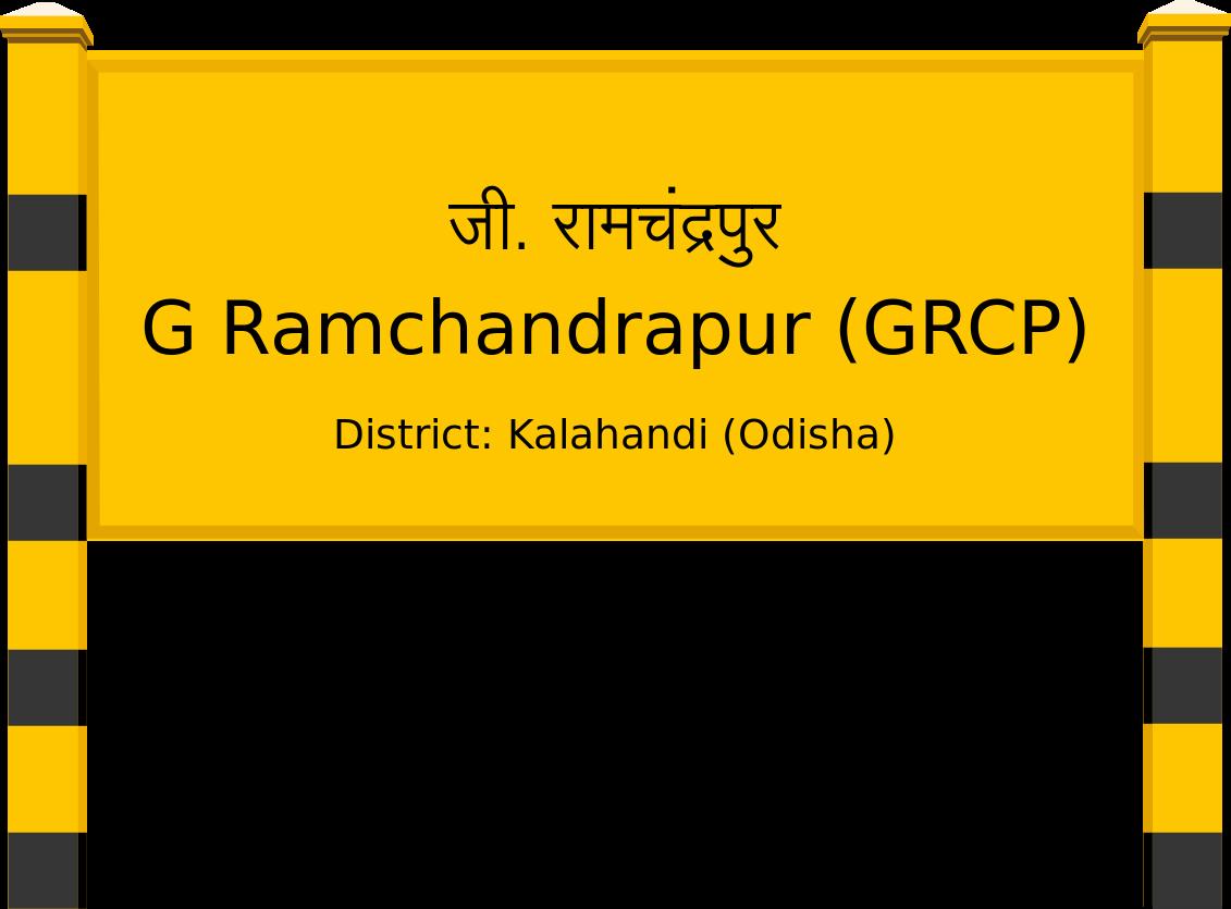 G Ramchandrapur (GRCP) Railway Station
