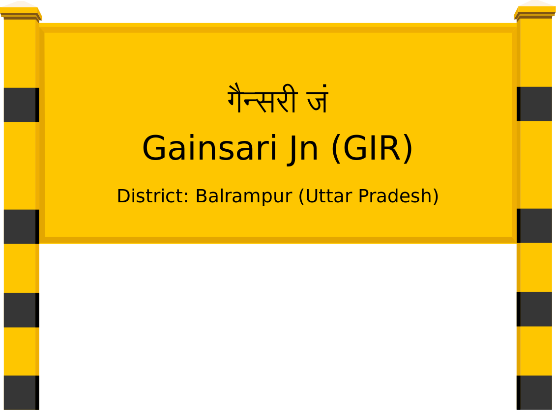 Gainsari Jn (GIR) Railway Station