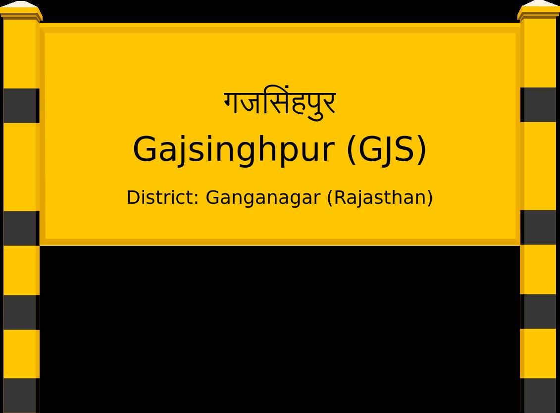 Gajsinghpur (GJS) Railway Station