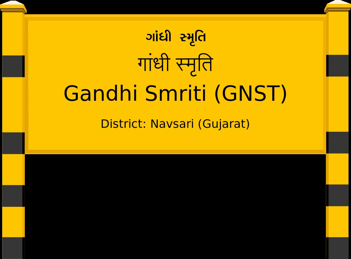 Gandhi Smriti (GNST) Railway Station