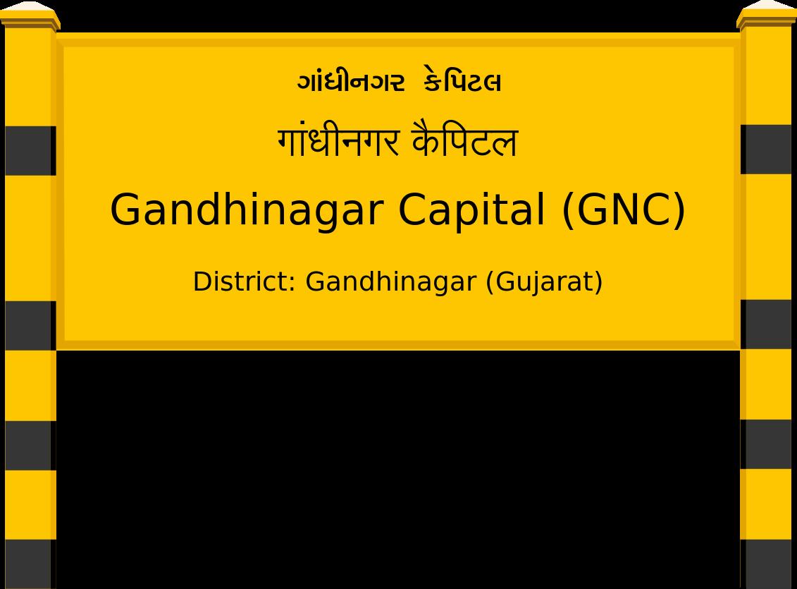 Gandhinagar Capital (GNC) Railway Station