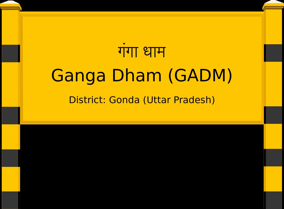 Ganga Dham (GADM) Railway Station