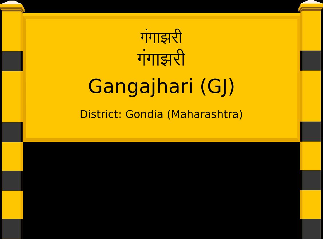 Gangajhari (GJ) Railway Station