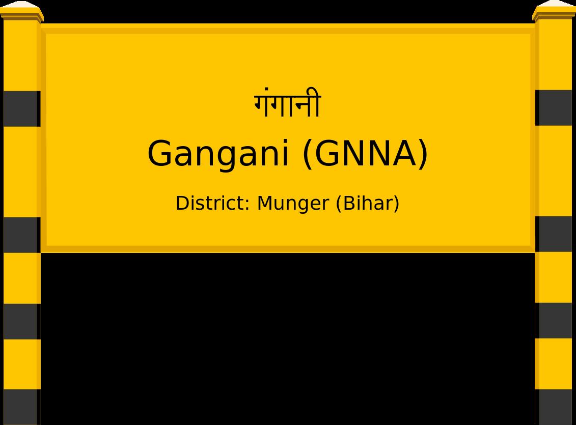 Gangani (GNNA) Railway Station