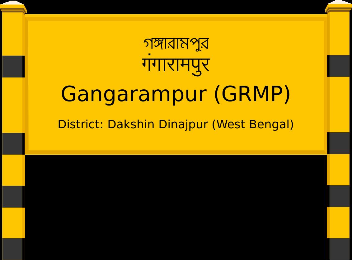 Gangarampur (GRMP) Railway Station