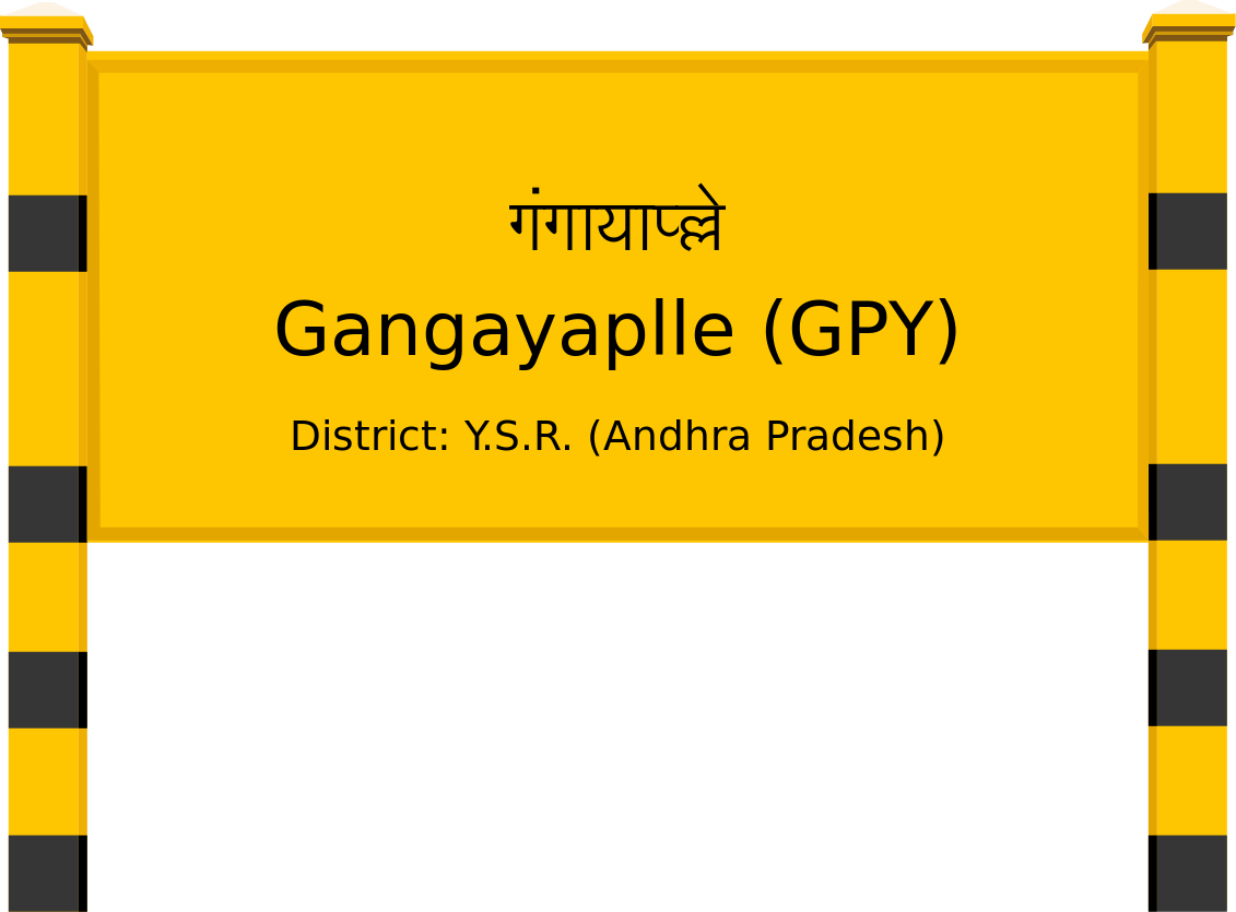 Gangayaplle (GPY) Railway Station