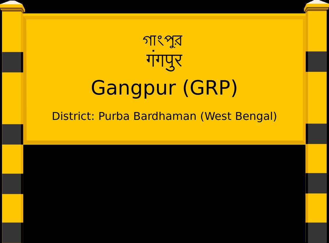 Gangpur (GRP) Railway Station