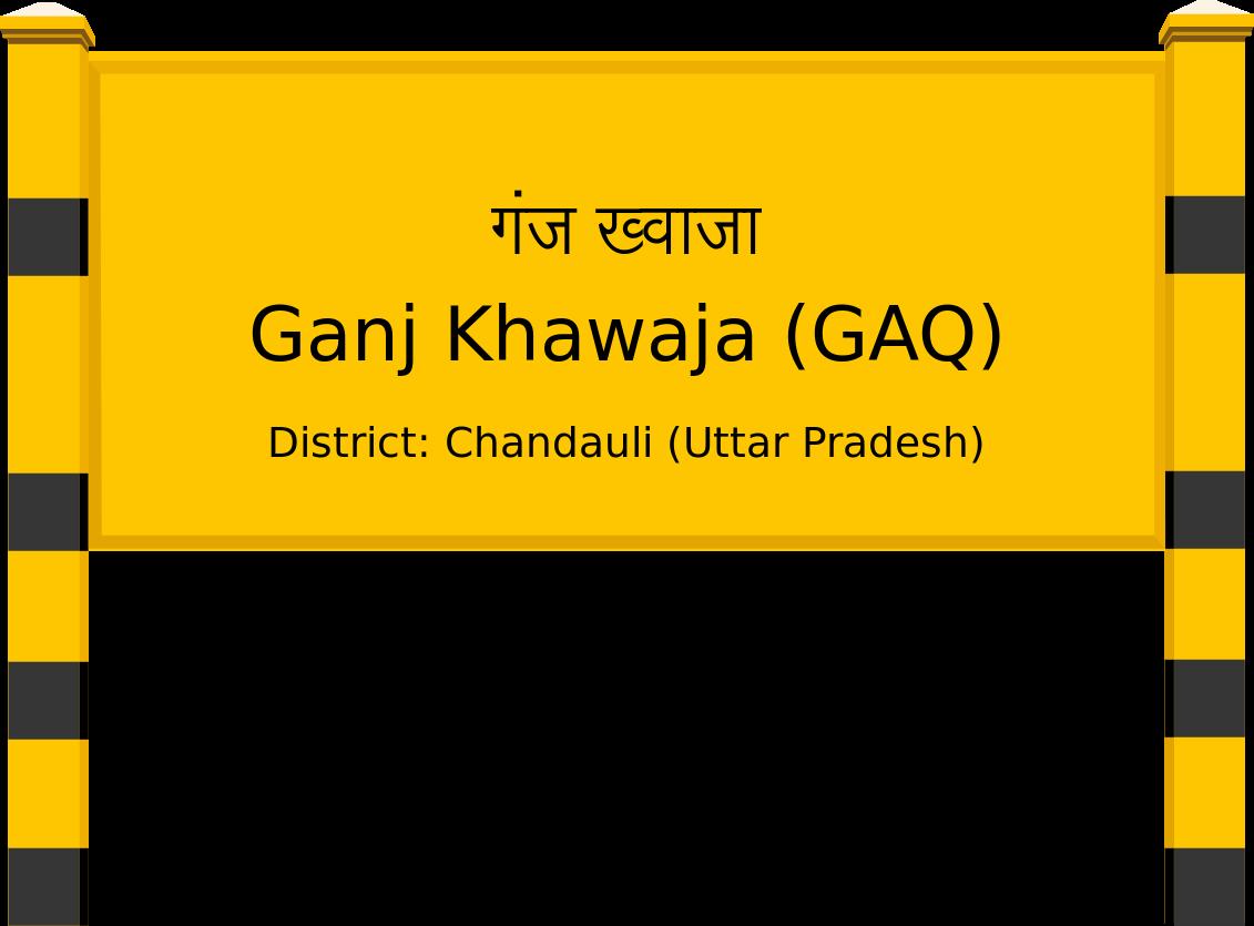 Ganj Khawaja (GAQ) Railway Station