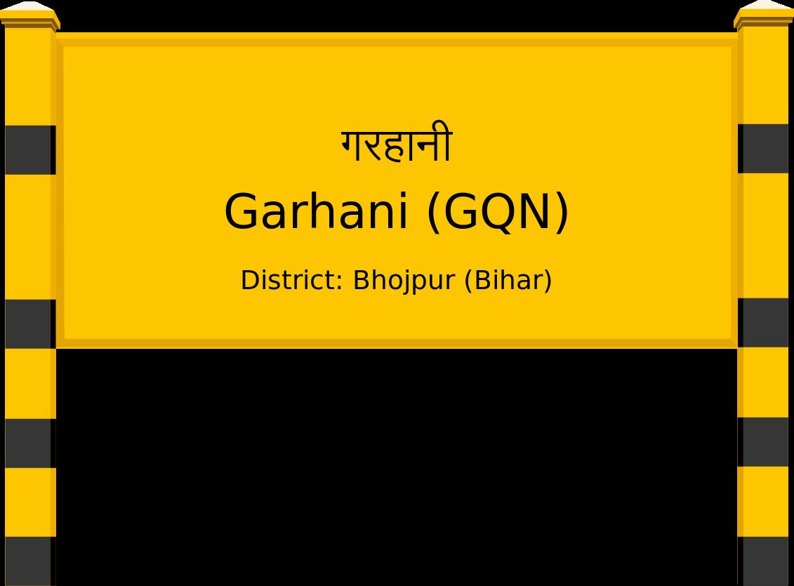 Garhani (GQN) Railway Station