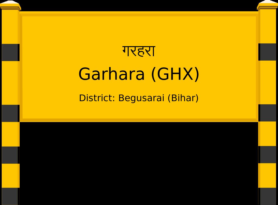 Garhara (GHX) Railway Station