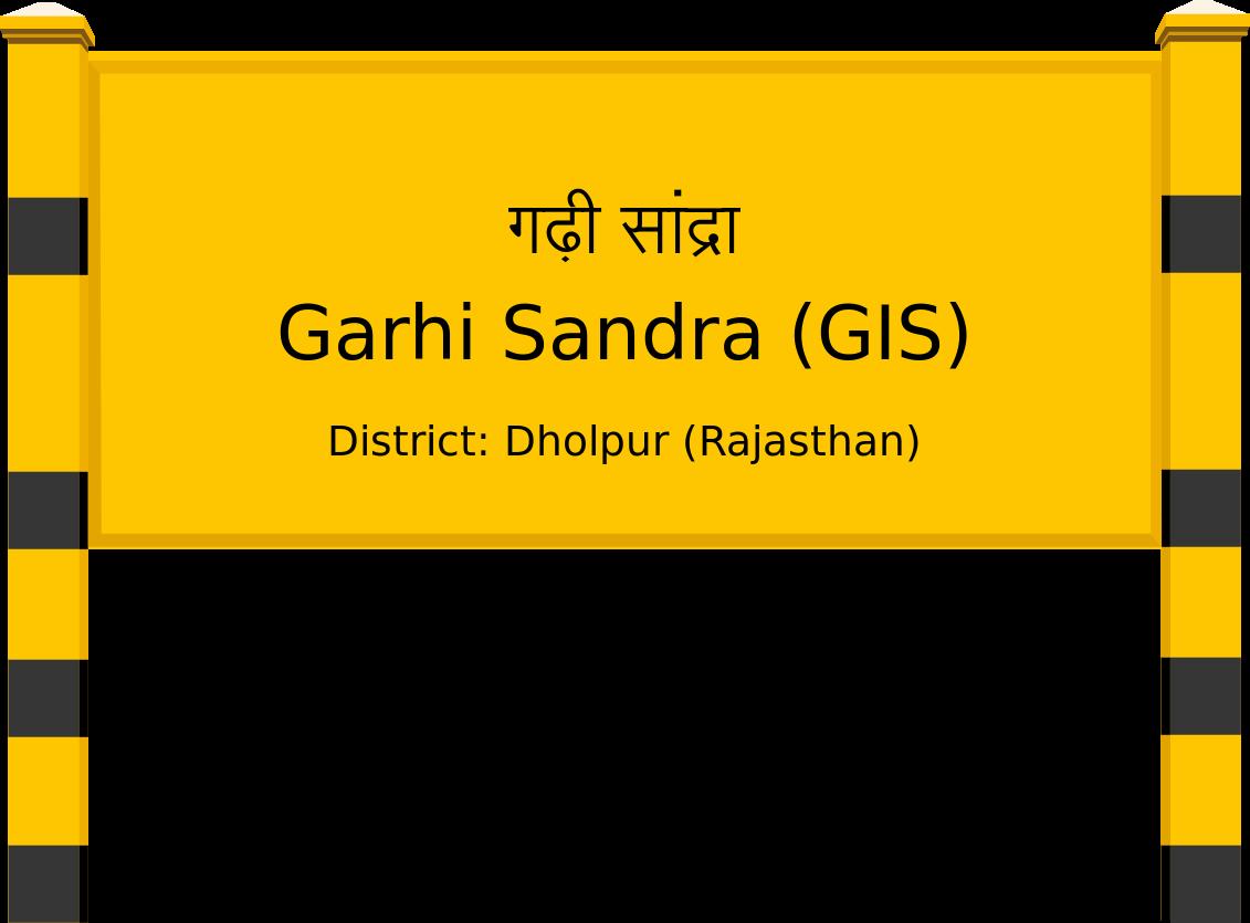 Garhi Sandra (GIS) Railway Station