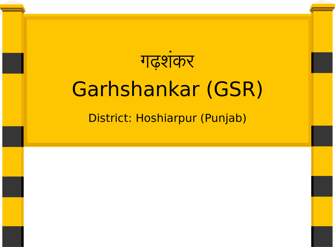 Garhshankar (GSR) Railway Station
