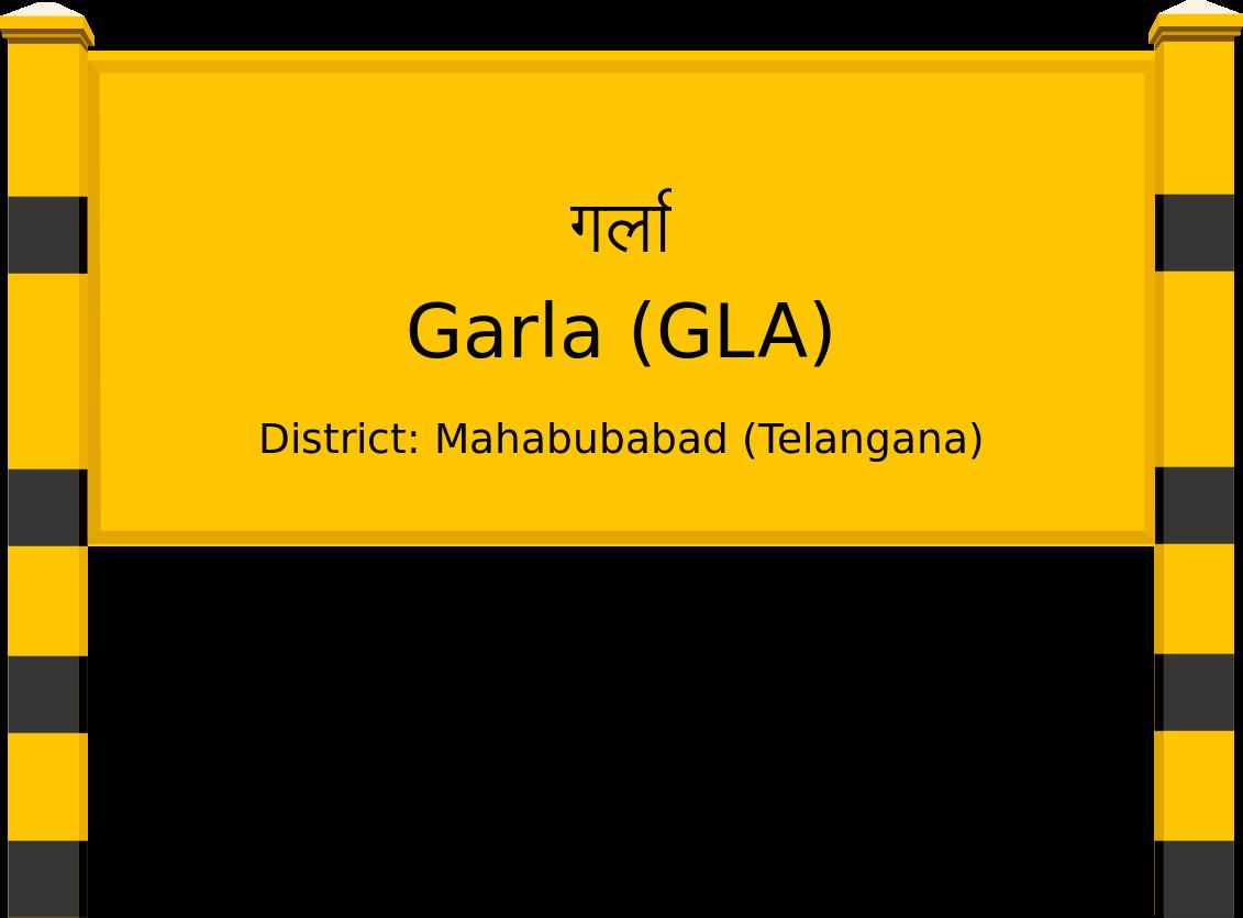 Garla (GLA) Railway Station