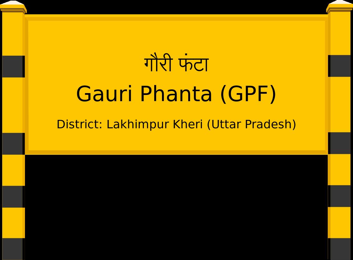 Gauri Phanta (GPF) Railway Station