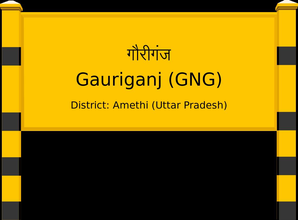 Gauriganj (GNG) Railway Station