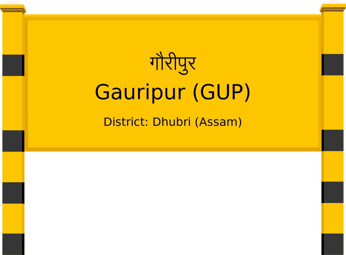 Gauripur (GUP) Railway Station