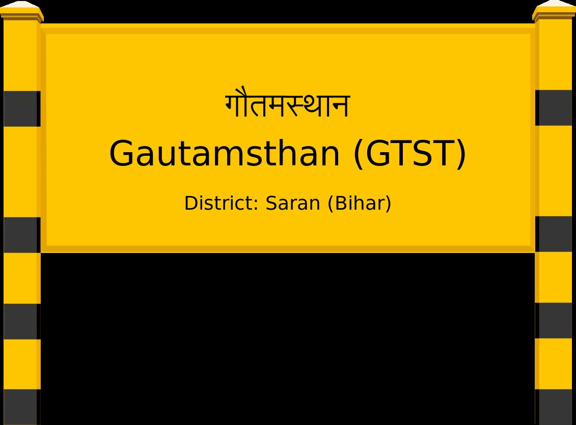 Gautamsthan (GTST) Railway Station