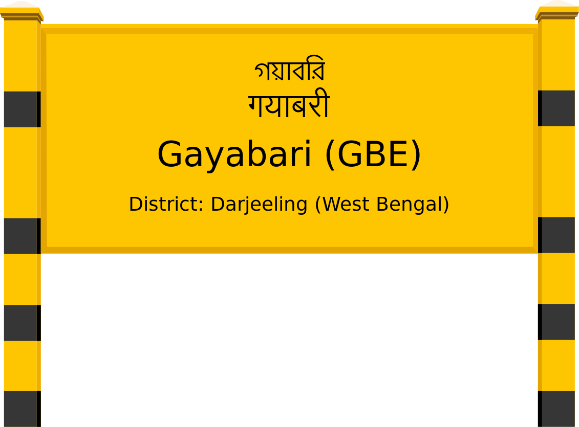 Gayabari (GBE) Railway Station