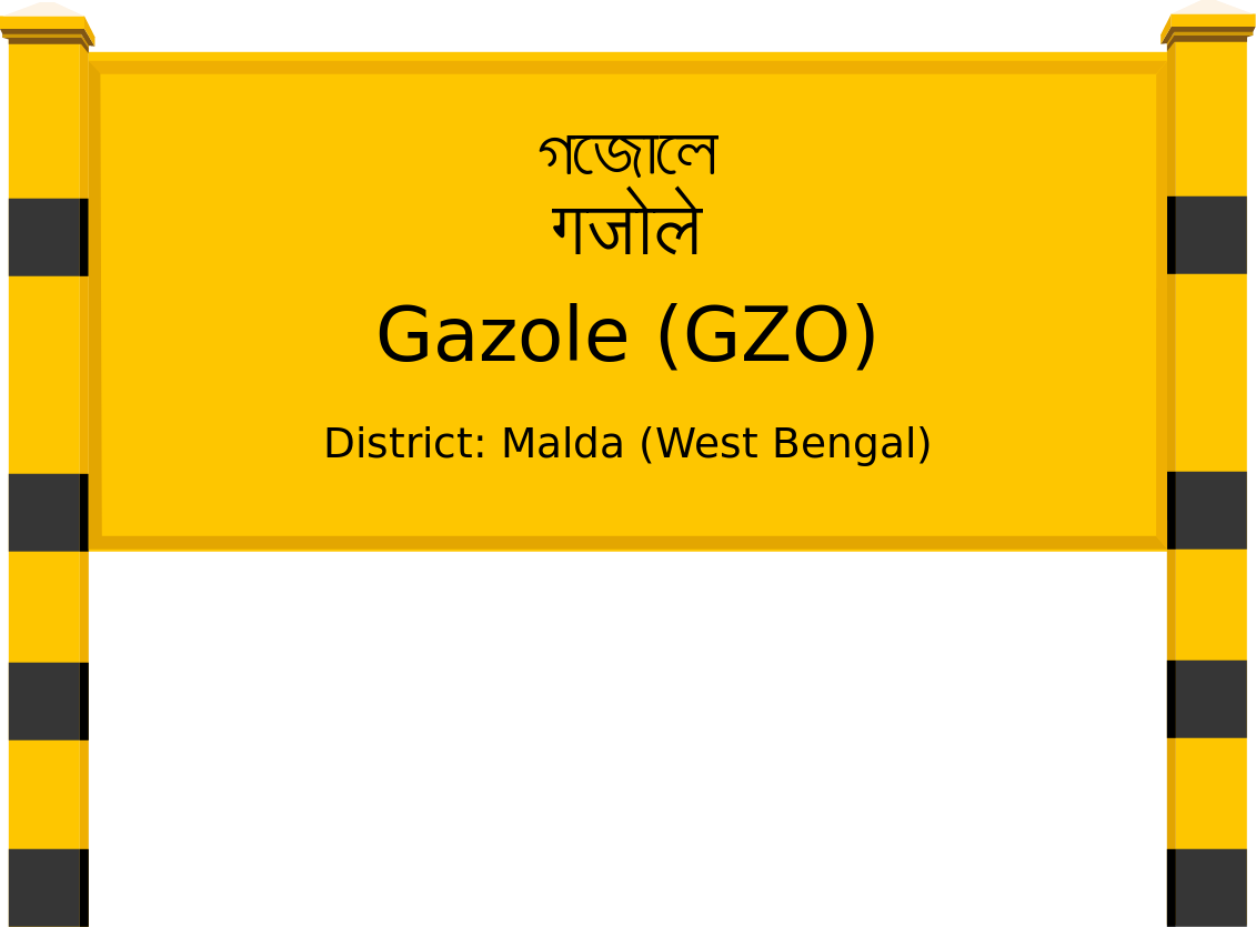 Gazole (GZO) Railway Station