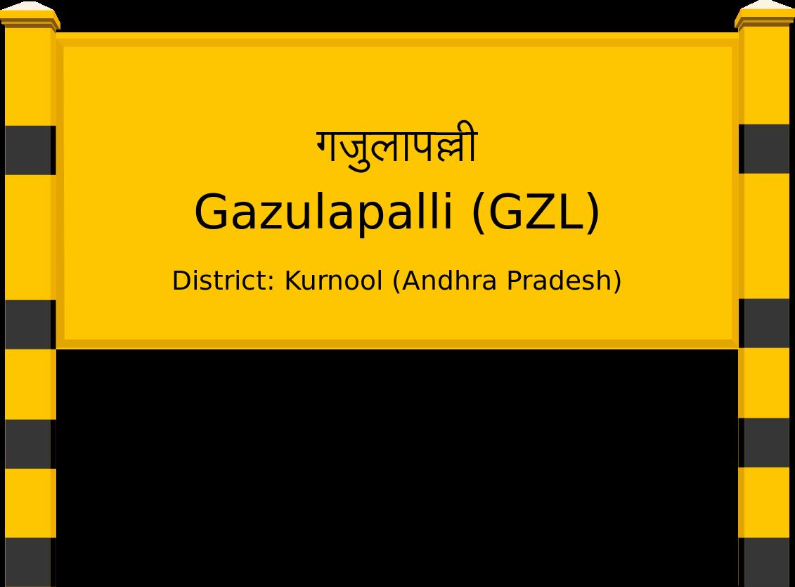 Gazulapalli (GZL) Railway Station