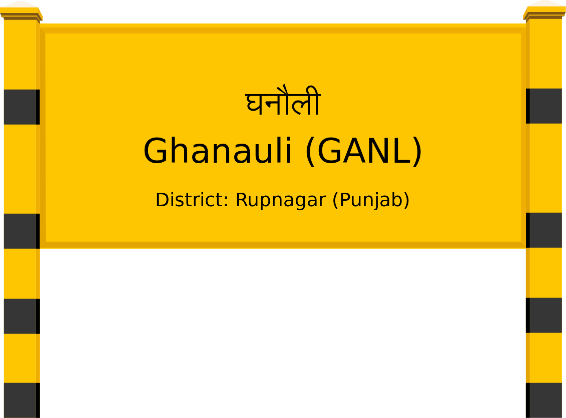 Ghanauli (GANL) Railway Station