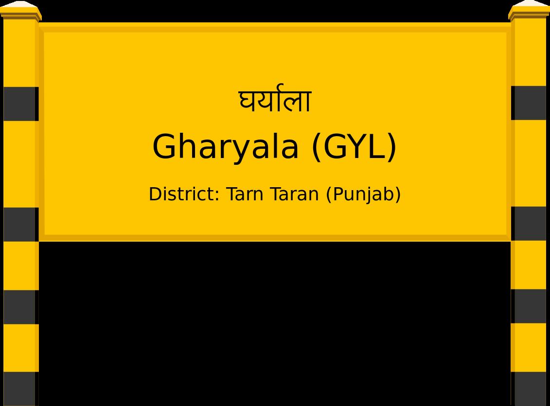 Gharyala (GYL) Railway Station