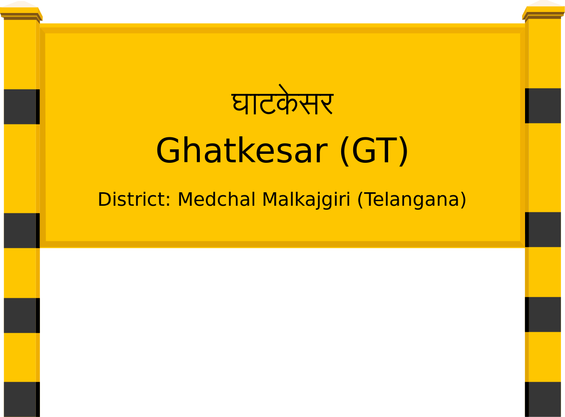 Ghatkesar (GT) Railway Station