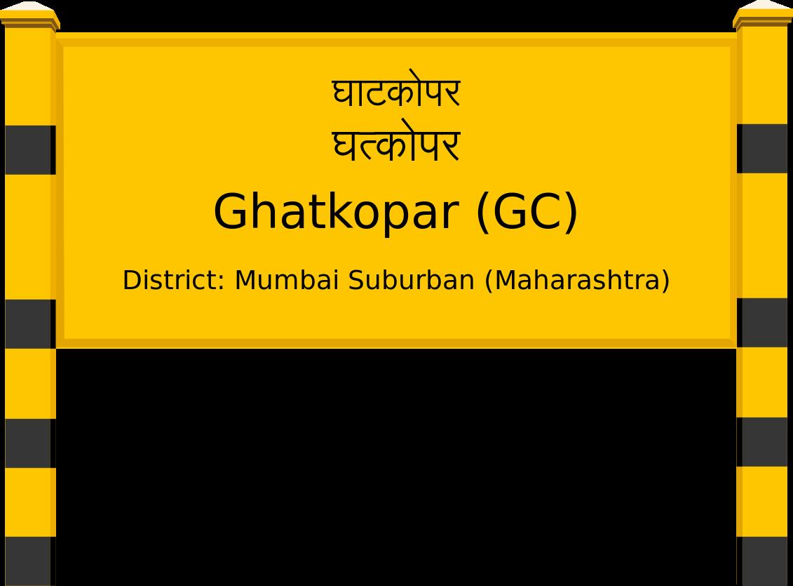 Ghatkopar (GC) Railway Station