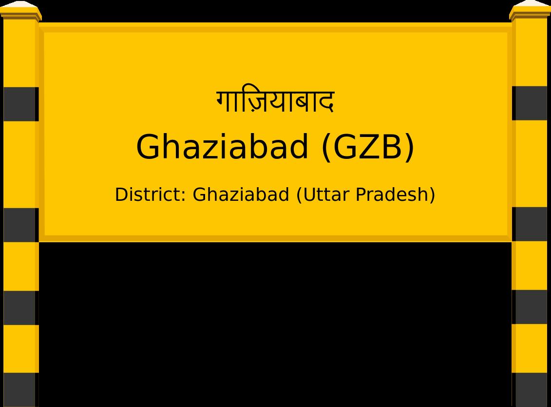 Ghaziabad (GZB) Railway Station