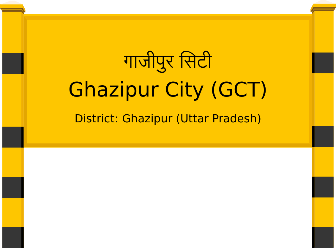 Ghazipur City (GCT) Railway Station