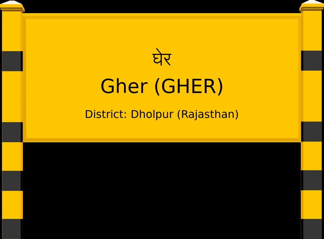 Gher (GHER) Railway Station
