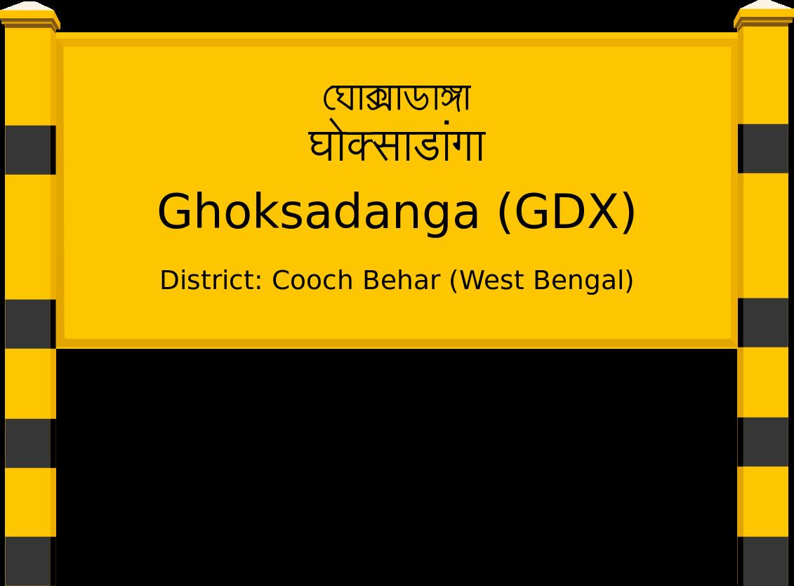 Ghoksadanga (GDX) Railway Station