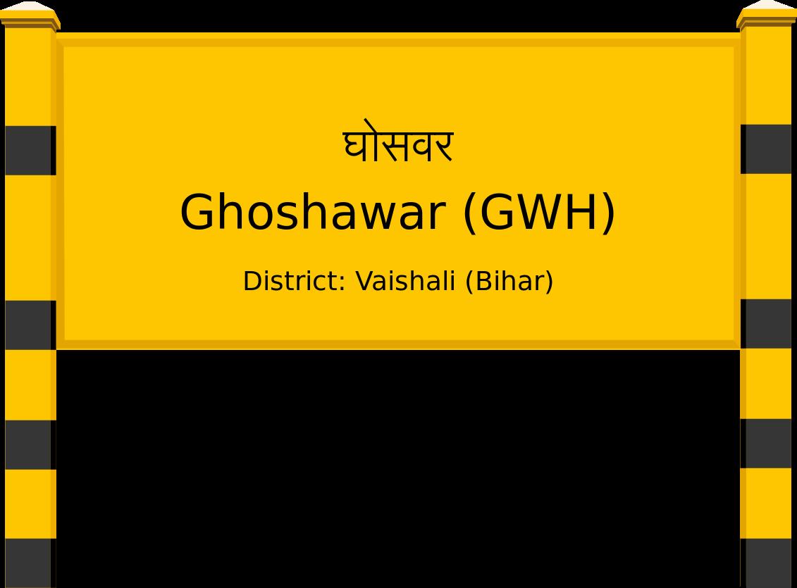 Ghoshawar (GWH) Railway Station