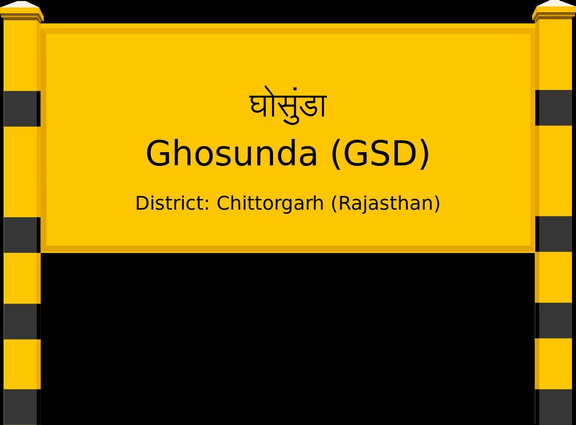 Ghosunda (GSD) Railway Station