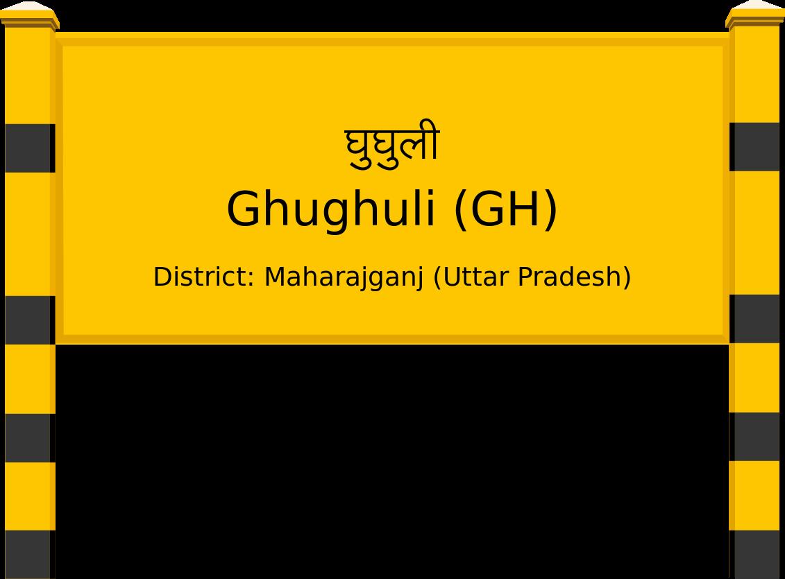Ghughuli (GH) Railway Station