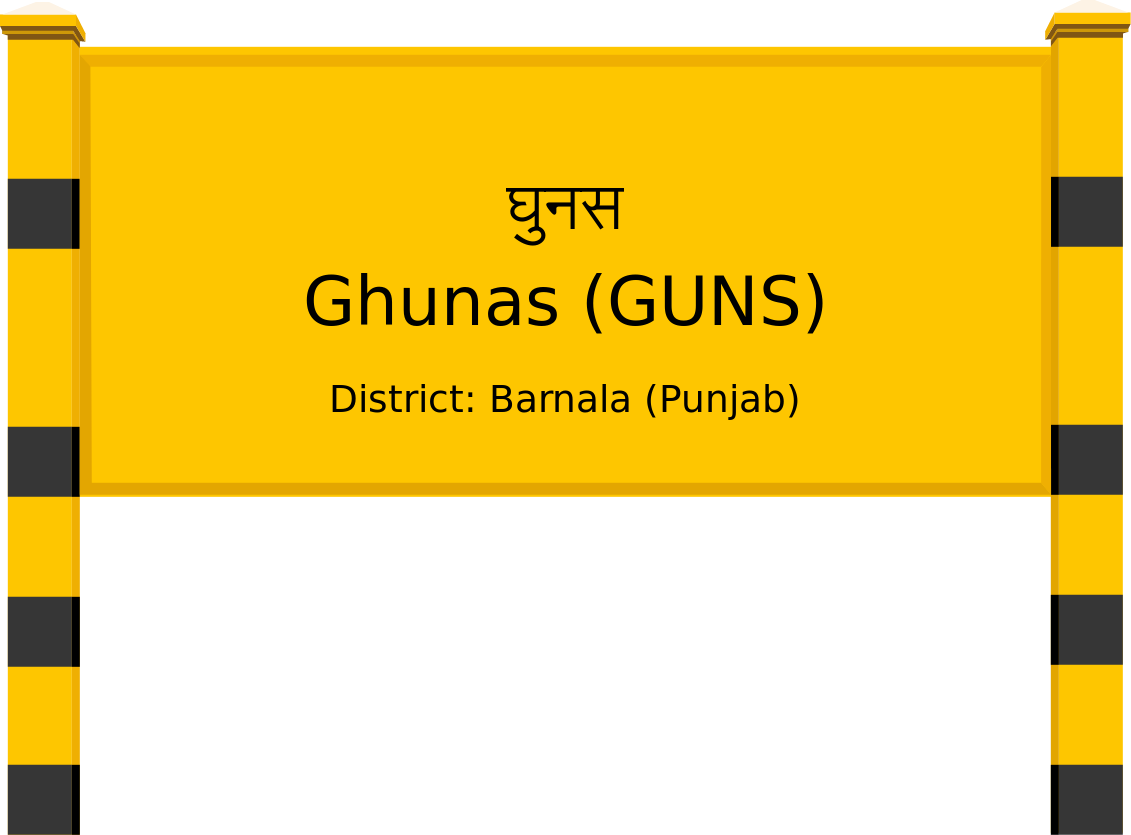 Ghunas (GUNS) Railway Station